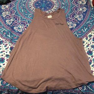 PINK muscle tee size L